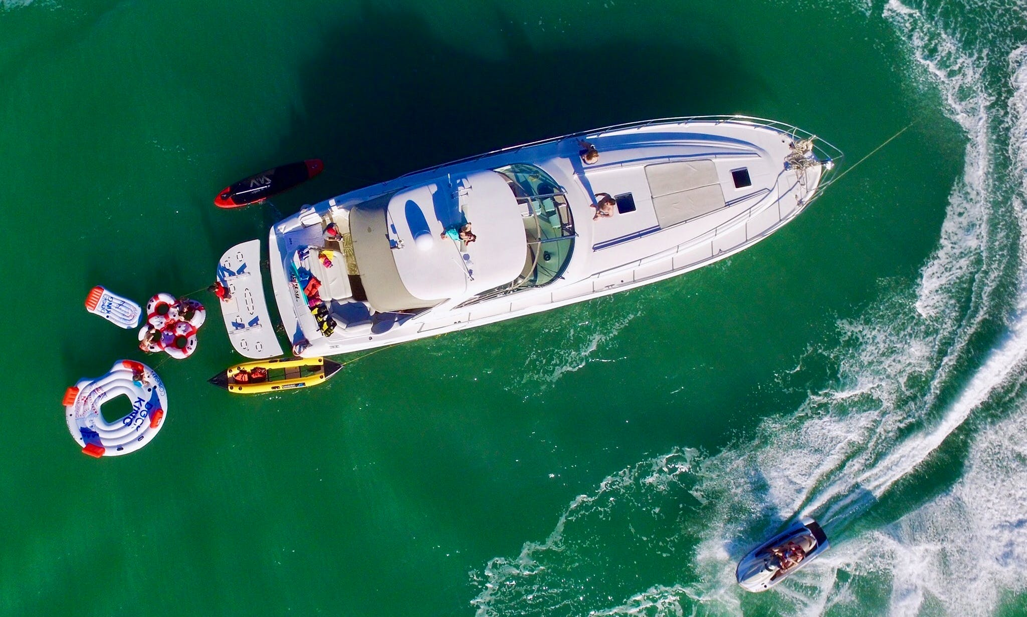 Rent a 55' Sea Ray Yacht in Miami for 12 People