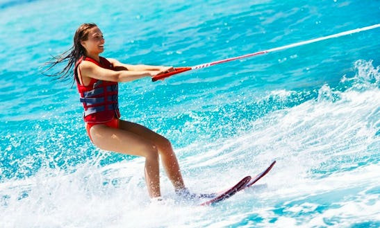 Enjoy Riding On Waters And Come Water Skiing In Il-mellieħa, Malta