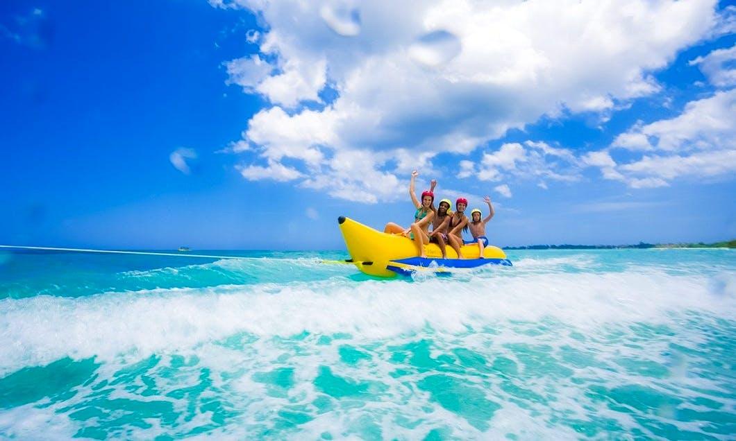 Let's Ride A Banana Boat in Il-Mellieħa, Malta