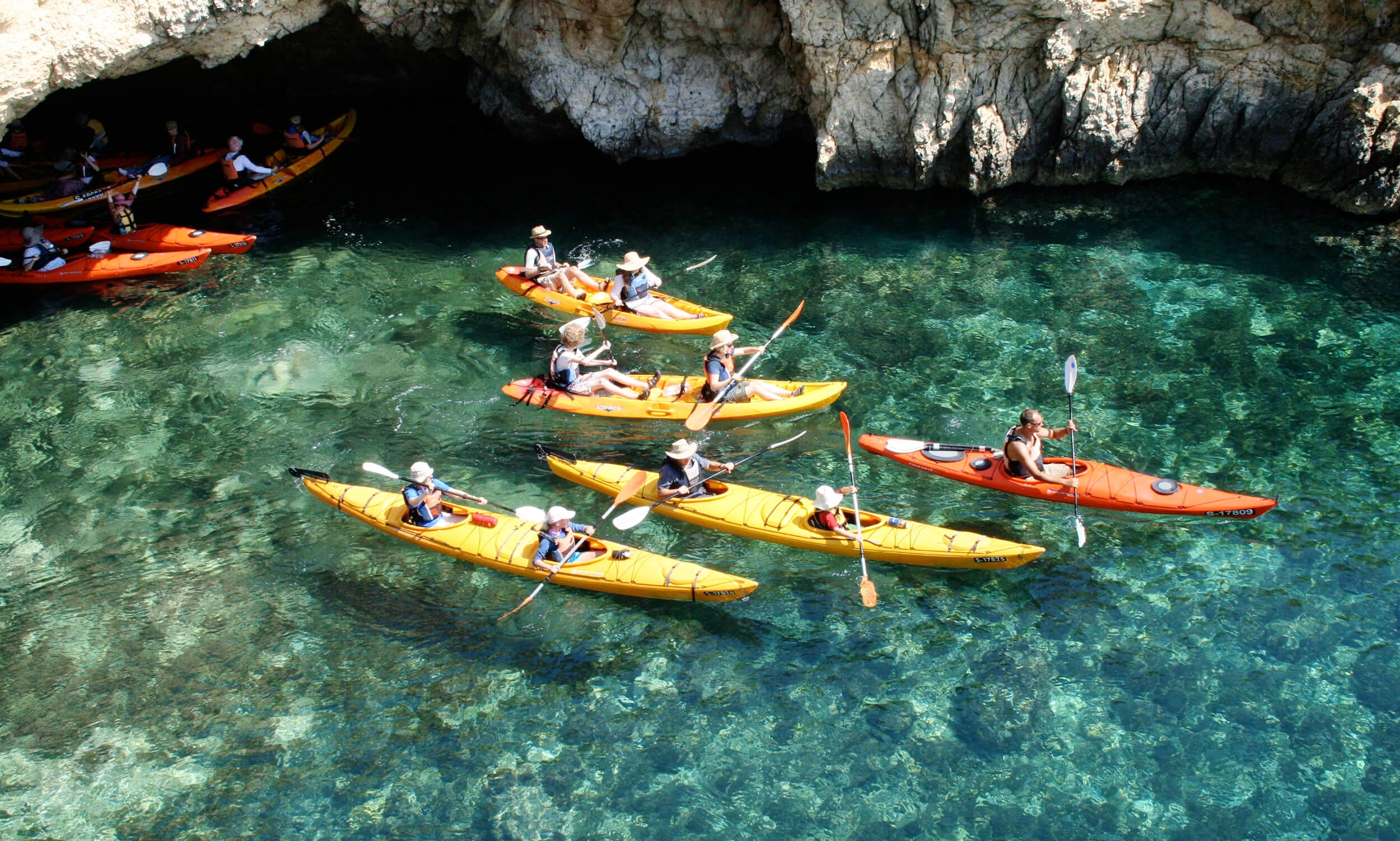 Come Enjoy A Day Of Sun And Fun Kayaking In Il-Mellieħa, Malta