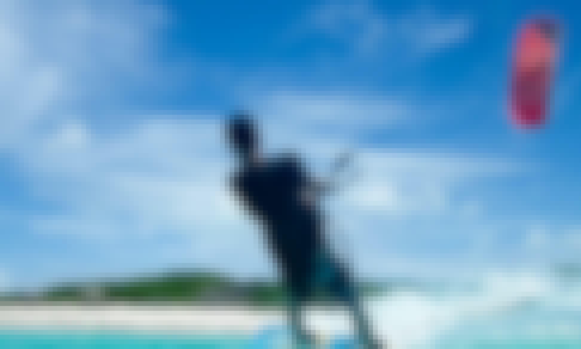 Enjoy The Thrills Of Kitesurfing In Virgin Gorda, British Virgin Islands