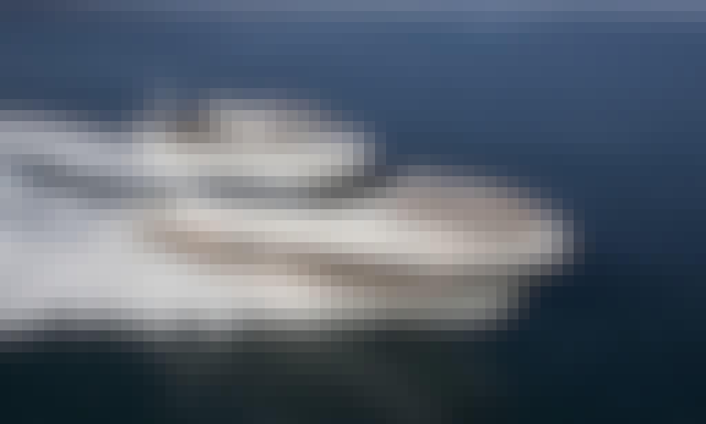 Prestige 500 Fly Motor Yacht Charter in Orbetello