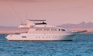 Charter Al Zahra Power Mega Yacht in Muscat, Oman