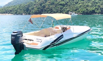 Real Flash 23 Bowrider Rental for Up to 7 Poeple in Rio de Janeiro, Brazil