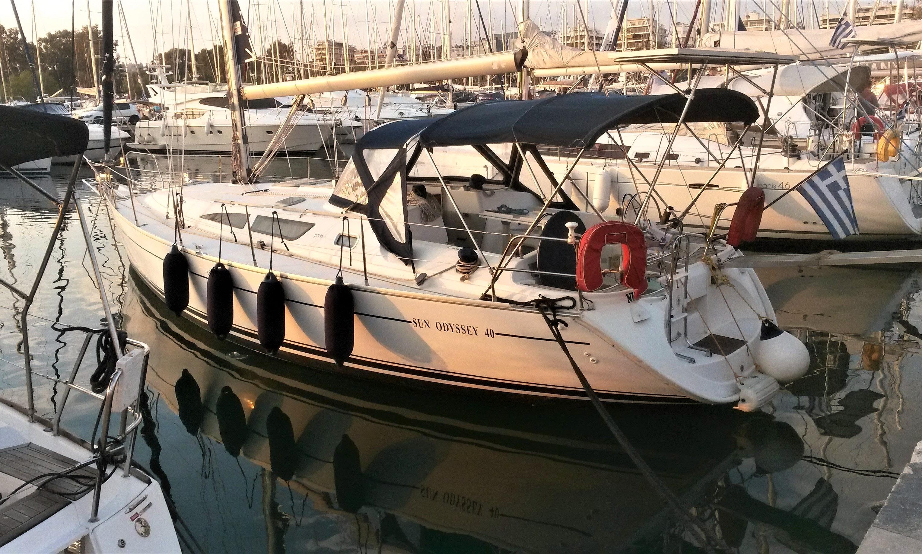 Jeanneau Sun Odyssey 40 Rental In Alimos Getmyboat