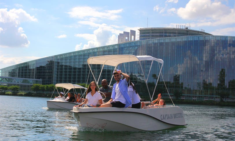 Discover The City With Your Own Boat In Strasbourg, France!