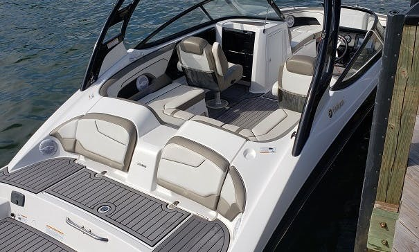 BEST IN MIAMI - LOOK AT REVIEWS! - 21 ft Yamaha JetBoat
