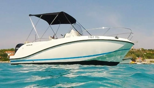 Quicksilver Activ 605 Boat Rental In Trogir