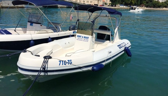 18' Rib Rental In Splitsko-dalmatinska županija, Croatia