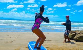 Surf Lessons in San Juan del Sur
