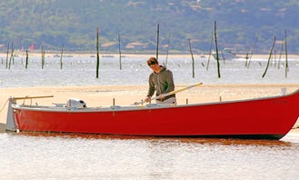Explore the Bay of Arcachon, France on a Traditional Boat