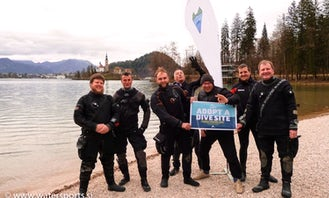 Diving  Trip and PADI Courses in Lake Bled, Slovenia!