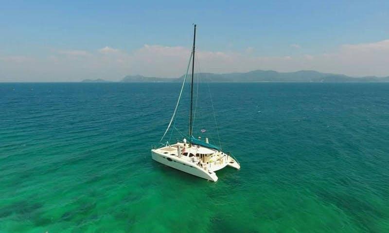 "38ft ""Whatever"" Cruising Catamaran Rental in Muang Pattaya, Thailand"