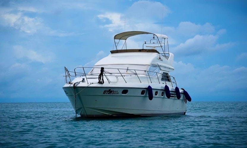 Amazing 48' Princess Motor Yacht For Charter in Muang Pattaya, Thailand!