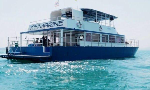"60ft ""Ice Ice"" Power Catamaran For Charter in Muang Pattaya, Thailand"