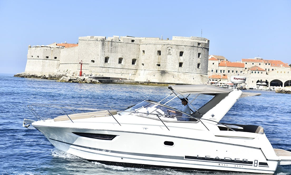 Jeanneau Leader 8, boat rental in Dubrovnik