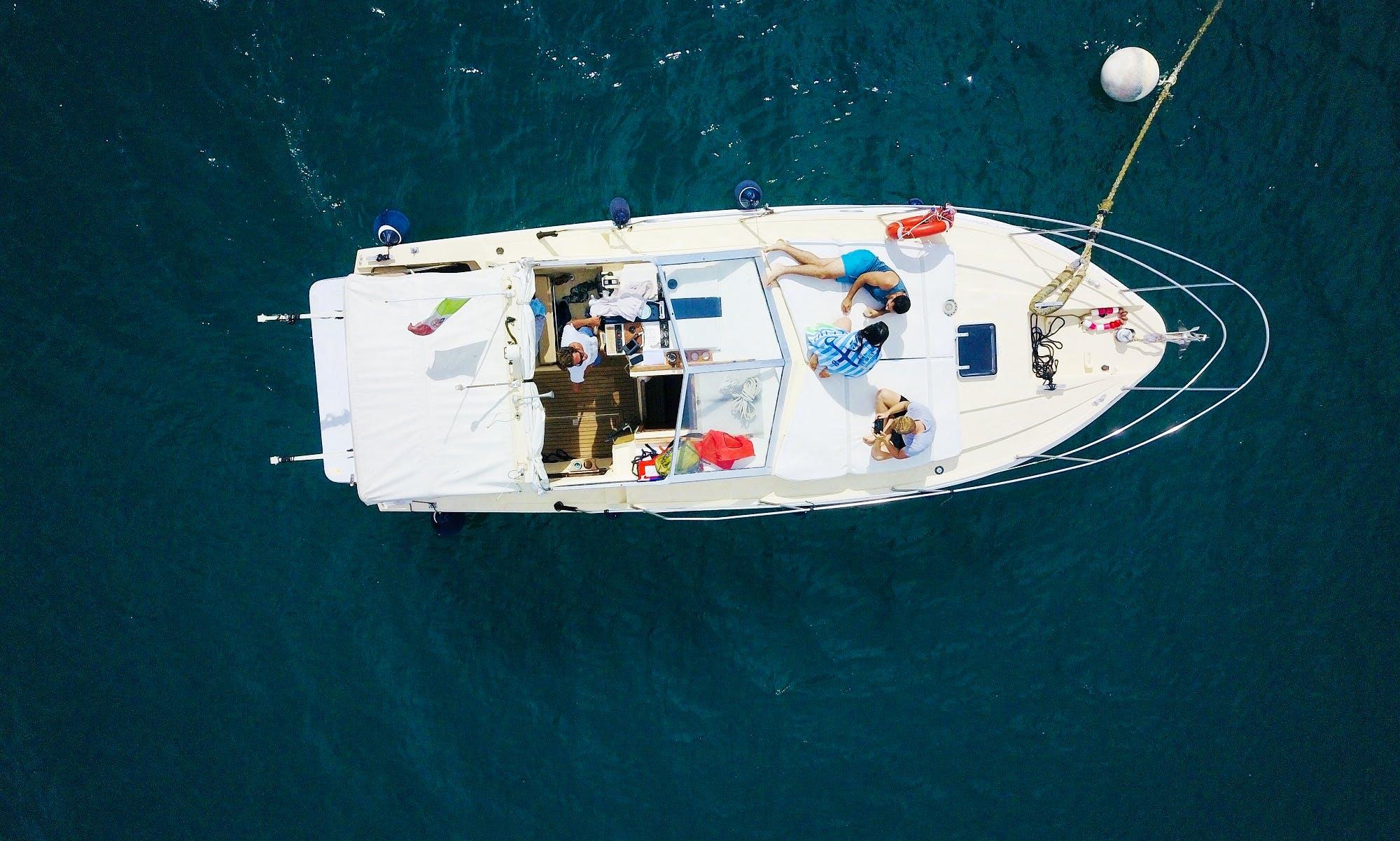 Monterosso al Mare Cruise aboard the Azimut 28 Motor Yacht