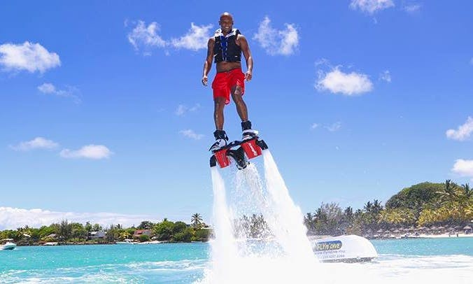 Flyboarding with Certified Guides in Grand Baie, Mauritius