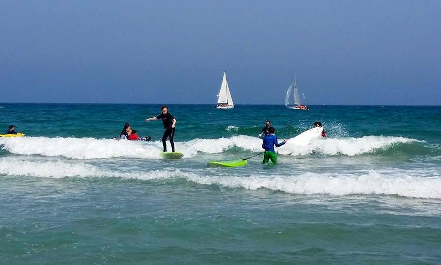 Best Surfing Lessons in Nahariyya, Israel!