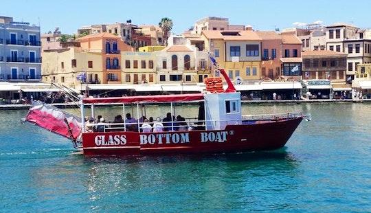 Glass Bottom Boat Trips In Chania, Greece