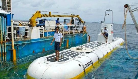 Whale Submarine Tour In Male, Maldives
