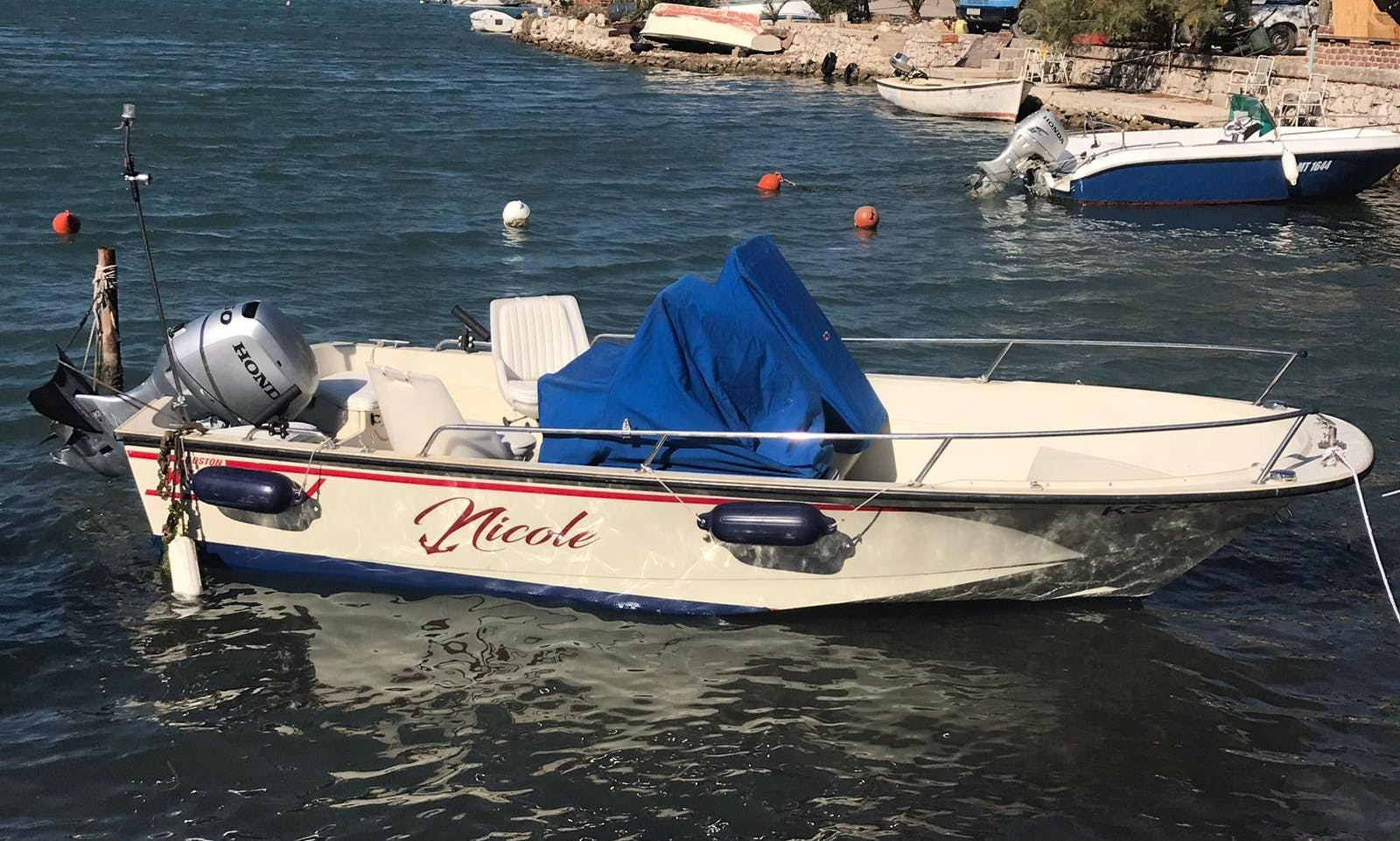 Rent this Boston Whaler 16SL in Blace, Croatia and go Fishing
