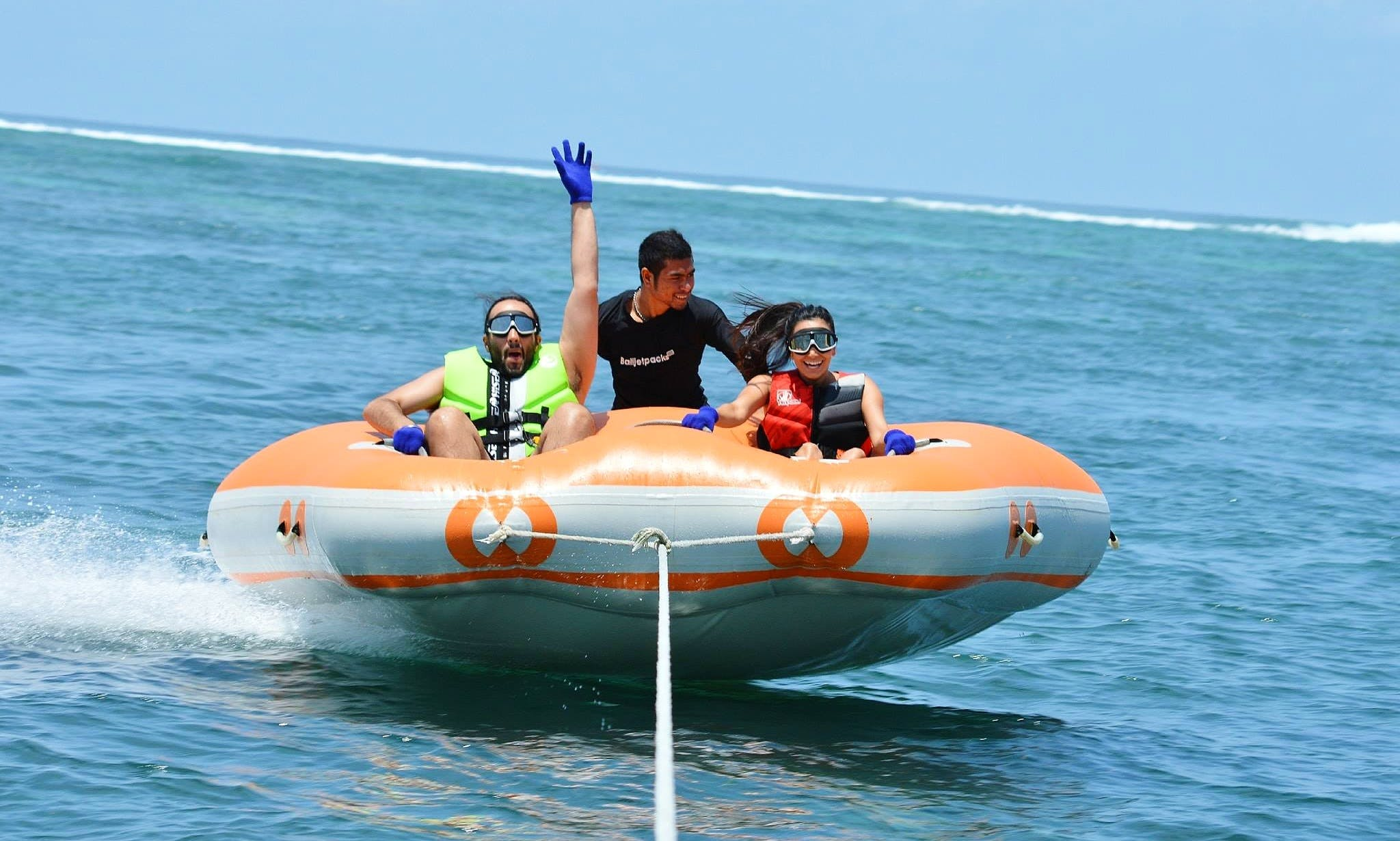 Enjoy Riding On Doughnut Boat in Kuta Selatan, Indonesia