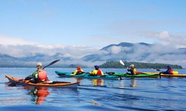 Kayak Rental in Ucluelet, British Columbia