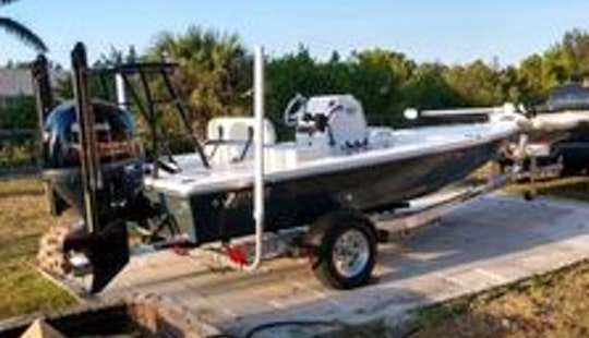 Hewes Flats Skiff Fishing Charter On Everglades National Park With Captain D.j.