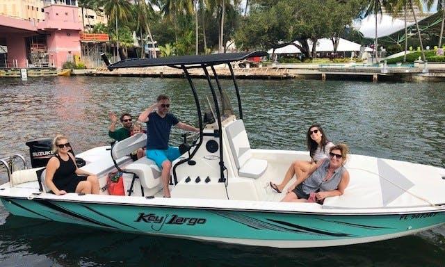 2018 Key Largo 220 Bay Enjoy fishing, diving, cruising