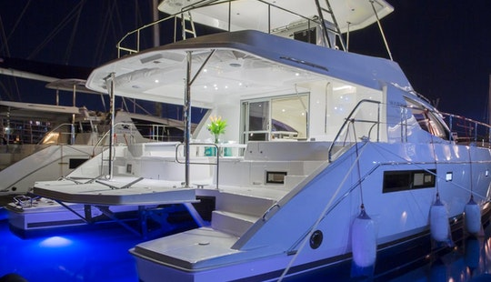 Incredible Power Yacht Vacation In Phuket Aboard 514pc Power Catamaran