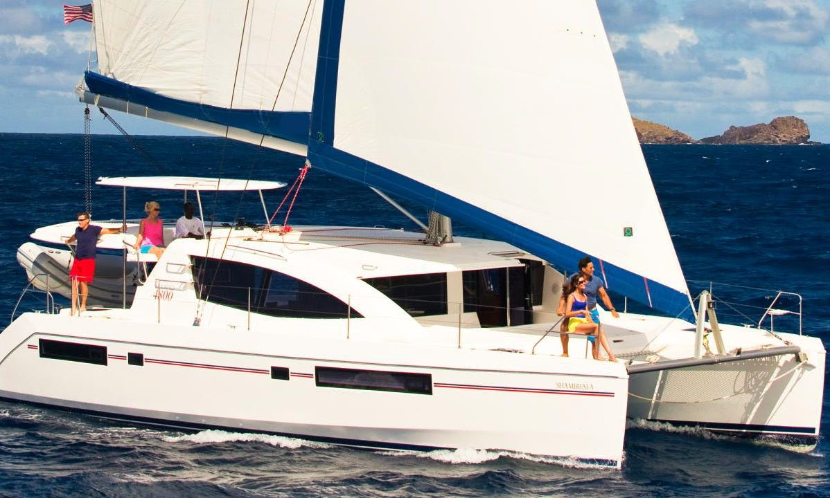 Grenada Cruising Vacation aboard a fantastic 48' Sailing Catamaran