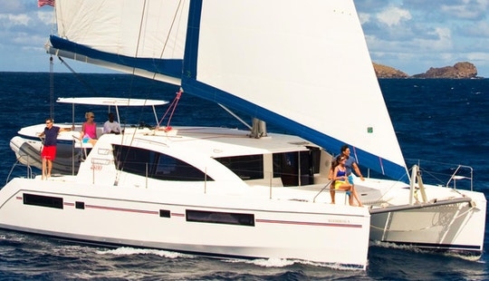 Grenada Cruising Vacation Aboard A Fantastic 48' Sailing Catamaran