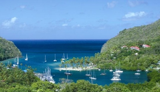 Exclusive Sailing Adventure Aboard The 51' Sailing Yacht In St. Lucia Water