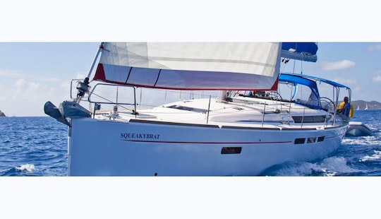 Exciting Boating Adventure In St. Lucia Onboard 51' Sailing Yacht For 11 People