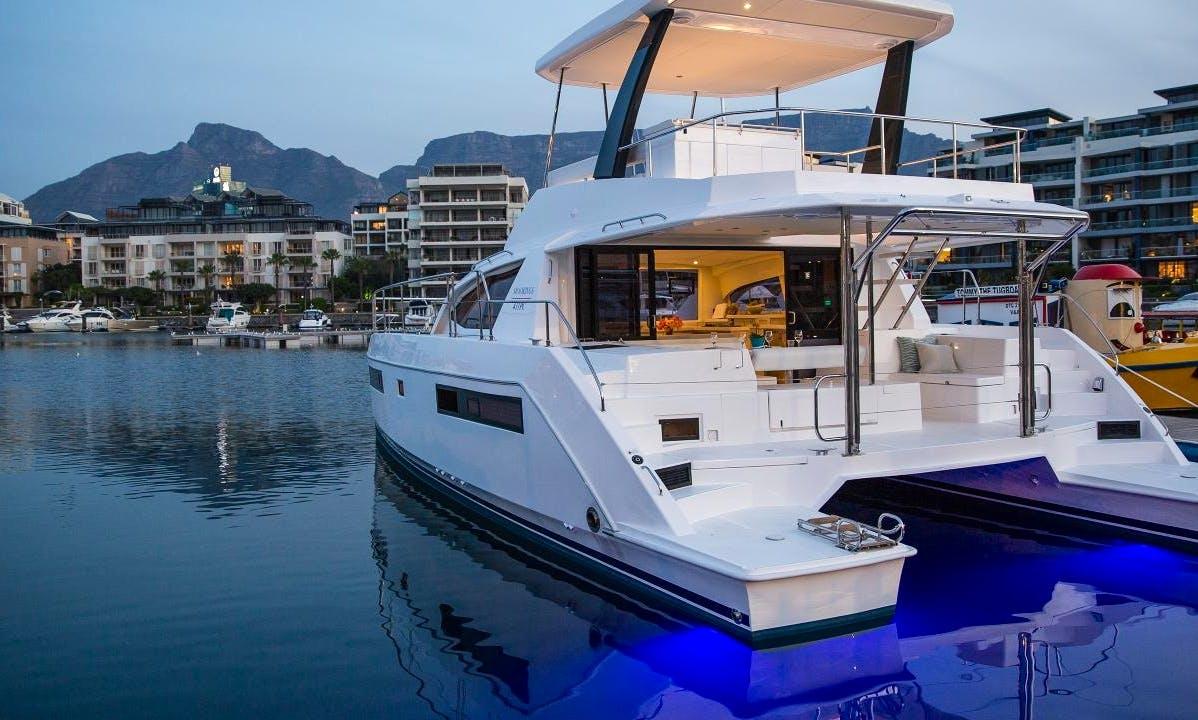 3 Cabin Power Catamaran Charter in Tortola, BVI