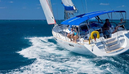 Awesome Yachting Adventure In British Virgin Island With 4 Cabin Sailing Yacht