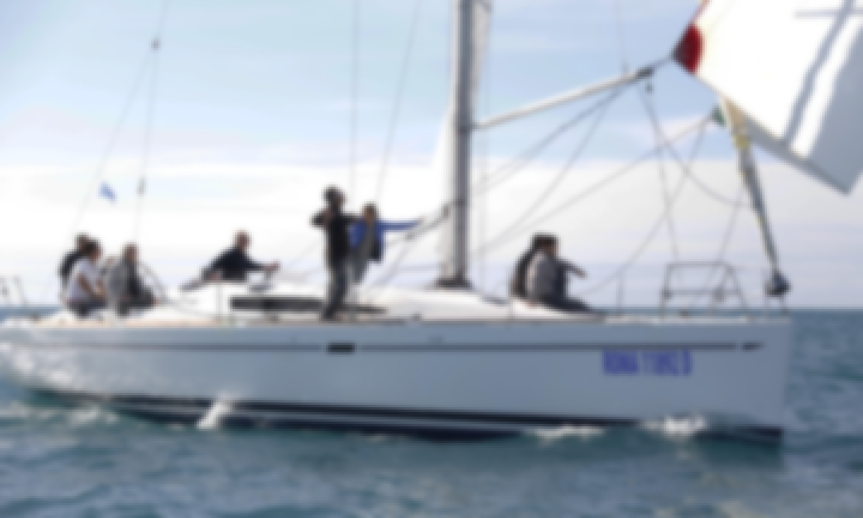 "Charter 41ft ""Gordon"" Elan 410 Sailing monohull In Nettuno, Italy"