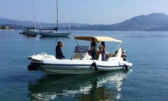 RIB Marlin 21 Suzuki 175hp 2018mod in Nikiana Lefkada Greece