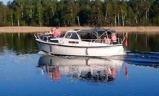 Water Taxi Boat Tour on Aukštaitija National Park in Lithuania
