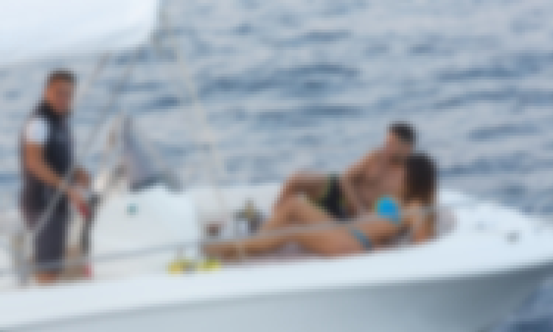Skippered Romar Bermuda 570 Boat Rental for 5 People in Sorrento, Italy