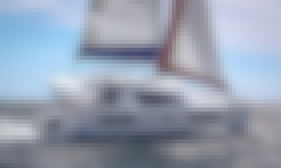 Venture the Sea aboard the 39' Sailing Catamaran in British Virgin Islands