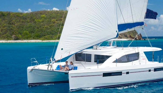 Relax And Sail In Style On A Luxury 4 Cabin Cruising Catamaran In Gros Islet, St. Lucia!