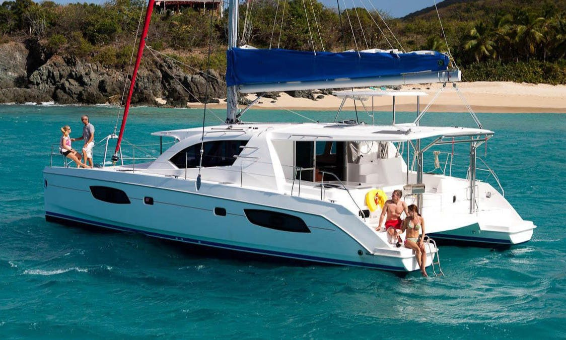 Superlative Onboard Experience with 44 Catamaran in Placencia, Belize