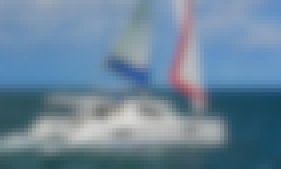 Book a 43ft Sunsail Cruising Catamaran for 8 People In Saint George, Grenada!
