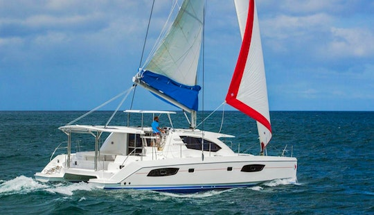 Book A 43ft Sunsail Cruising Catamaran In Saint George, Grenada!