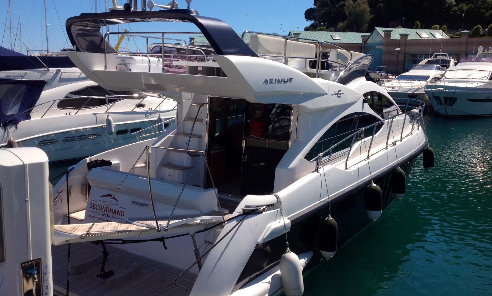 Azimut for rent to all agean from Cesme Turkey