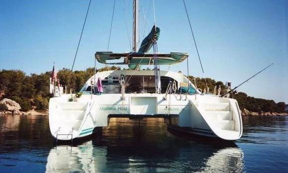 Charter this Lagoon 41 catamaran sailboat out of Miyakojima