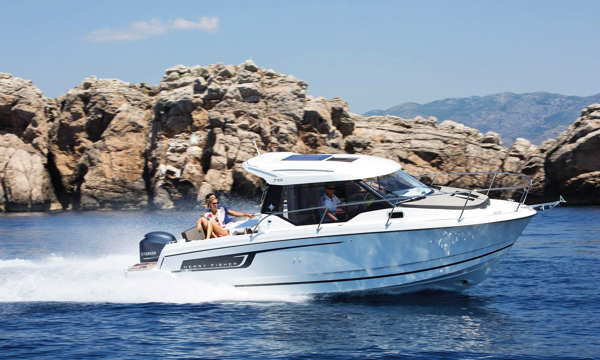 Merry Fisher 795 Cuddy Cabin Yacht in Sumartin, Croatia