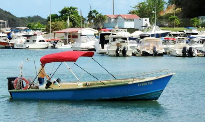 Skippered Boat for Rent in Le François, Martinique